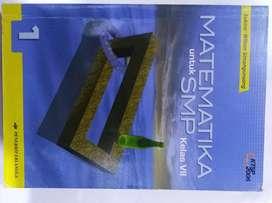 Buku Matematika kelas VII (Sukino/Wilson S)