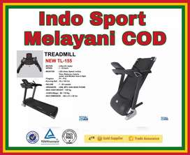 New!! Treadmill Elektrik Besar TL 155 kuat 150 Kg