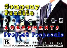 ►Business ►Office ►Project ►Documentation ►Letters ►Company Profile