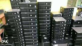 Dell CPU intel core 2 duo 4gb ram, 250 gb hdd