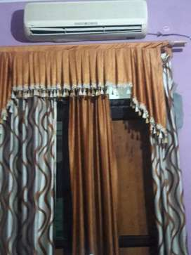 Furnished room with ac, inverter,attach washroom,bed,r.o water