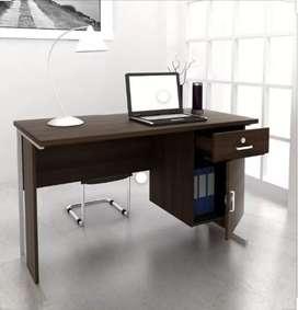 Meja kantor 1/2 biro p.design