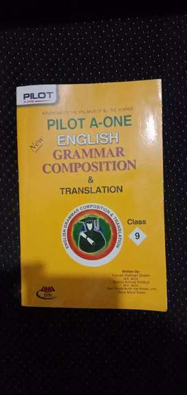 Pilot A One English Grammar Composition & Translation for 9th Class