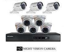 8CH HD CCTV Camrea setup installation