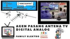 AGEN antena TV murah Pasang Baru Antena luar Outdoor Beji