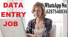 Data entry job with weekly payment
