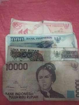 Di jual uang kuno / uang lama