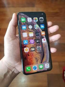 iPhone XS Max 256GB Gold Murah (Retak Belakang All Normal)