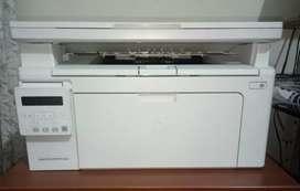 Hp printer in white colour