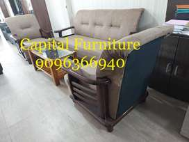 Teakwood sofa set at very affordable price on instalment