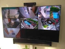 cctv ori paket 2 kamera kapasitas 2mp garansi resmi  Yuk pasang CCTV