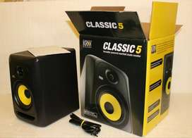 KRK Classic 5 Near-Field 2-Way Studio Monitor (Pair)