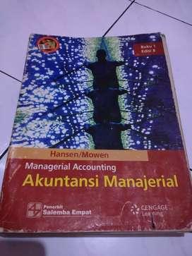Buku Akuntansi Manajerial Hansen Mowen Salemba empat edisi 8