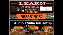 5008 learn studio Music editing mixing. And recording