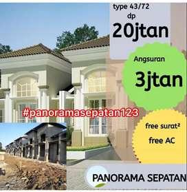Rumah murah akses 15 menit ke bandara Soekarno Hatta