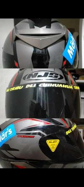 Helm fullface NJS