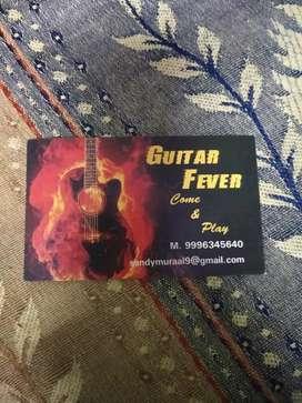 Guitar class in sonipat