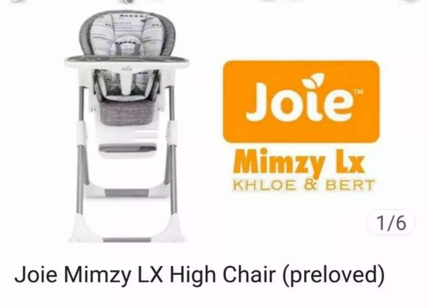 Joie Mimzy LX High Chair 0