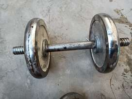 iron dumbbells.    (Only msg olx and number)