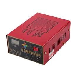Charger Aki Mobil Lead Acid Smart Battery Charger 12V/24V 6-200AH