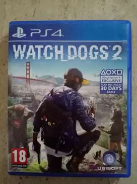 Watch dogs 2 and Horizon Zero Dawn for PS4