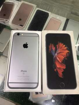 Iphone 6s 16gb grey with box n all accesories