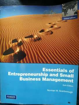 Essentials of Enterpeneurship and Small Business Management