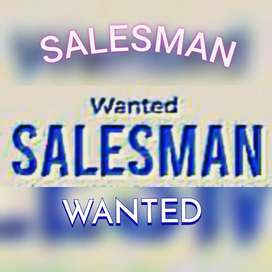 Salesman required in a boutique showroom..