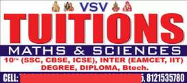 V S V tuitions ( Home tuitions also Available)