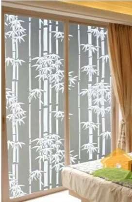 Banyak pilihan motif stiker sanblas & kaca film & wallpaper dll