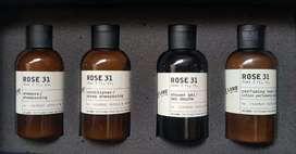 Le Labo Rose 31 x Fairmont 90ml Full Set