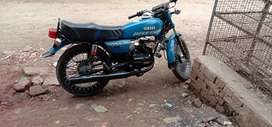 good condition. RX100 bike