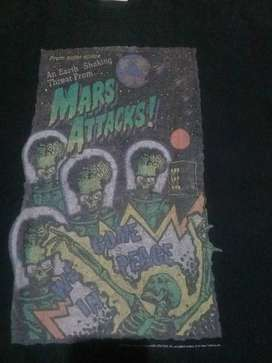 Kaos rare Vintage Mars Attacks 96 official