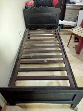 02 Single bed for sale without mattress