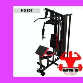 home gym 1 sisi beban 75 kg ID 807 F-887 multy gym