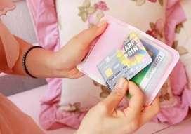 Dompet Kartu AT / Kartu nama Berkualitas, Menarik dan MURAH