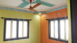 Semi furnished 3 bhk flat for rent near NKDA Market, Newtown AA 1