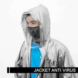 Jaket Antivirus dengan Faceshield