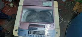 Lg top load washing machine good condition lite used