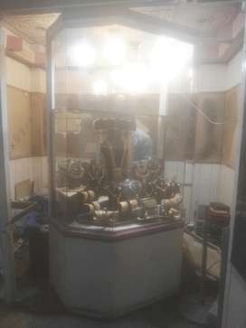 Gold Jewelary Show Case ( Dolly )
