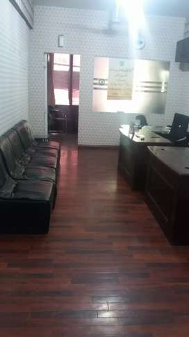 Blue area office first floor for Rent Idial location