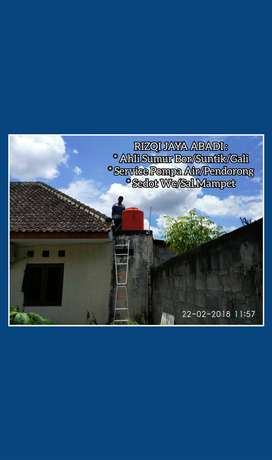 Service Pompa Air Servis Sanyo Pendorong Otomatis Suntik Sumur Jogja