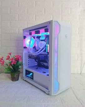 CPU i9 10850K Cometlake GTX 1650 16GB White RGB Gaming Render Lumion