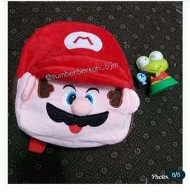 Tas karakter bulu anak
