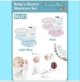 Kandila Electric Manicure Set 5in1 / Gunting kuku Bayi Elektrik