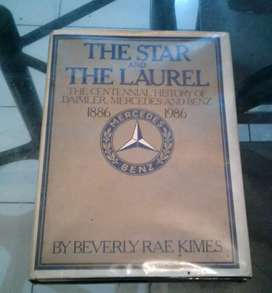 Rare Mercedes-Benz Historical Book 1886-1986 The Star & The Laurel.