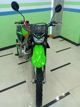 Kawasaki KLX type L thn 2014 plat pajak panjang