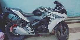 Honda CBR very good condition.