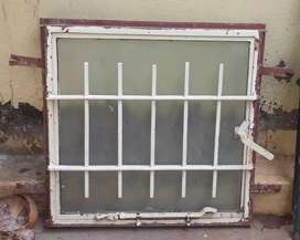 Single window for kitchen or bathroom vent