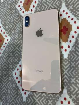 Iphone xs max Gold 64GB, 10/10 condition, used just for a month